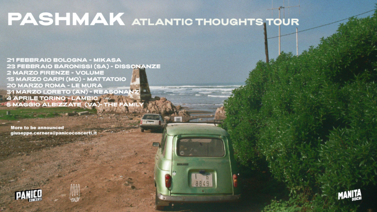 Pashmak: le prime date dell'Atlantic Thoughts Tour
