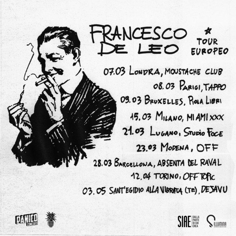 Francesco De Leo ospite a sopresa di Calcutta e Tour Europeo!