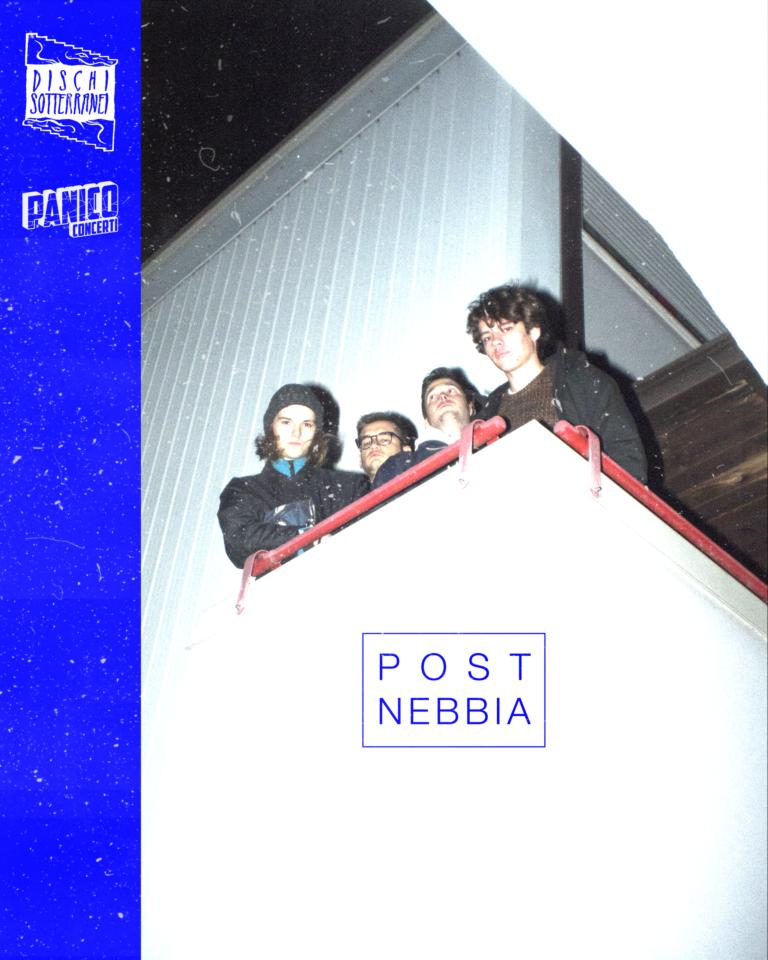 I Post Nebbia entrano nel roster di Panico Concerti