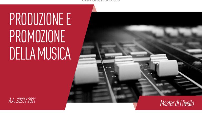 Panico è partner del nuovo Master Unibo in Produzione e Promozione della Musica